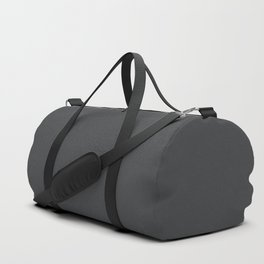 Dunn & Edwards 2019 Curated Colors Dark Engine (Dark Gray / Charcoal Gray) DE6350 Solid Color Duffle Bag