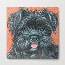 Terrier Painting - Koda Metal Print