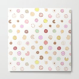 Donut You Want Some 04 Metal Print