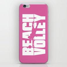 Beach volley iPhone & iPod Skin