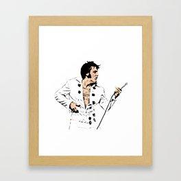 Air Guitar of Legends Framed Art Print