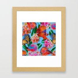 Hawaiian Print III Framed Art Print