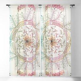 Mandala Sheer Curtain