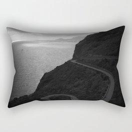 Funchal from Garajau Rectangular Pillow