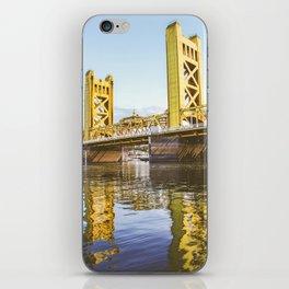 Yellow Reflection iPhone Skin