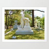 Weeping Angel 1 Art Print