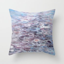 The Softest Serenade  Throw Pillow