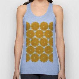 Orange Fruit Pattern Unisex Tank Top