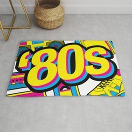 '80s style retro Rug