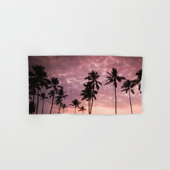 LA Sunset Hand & Bath Towel