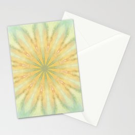 Tye Dye Flower Mandala Stationery Cards