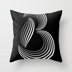 b like b Throw Pillow