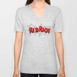 Red Riot! Unisex V-Neck