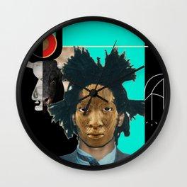 Melaninial Wall Clock