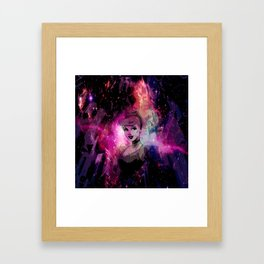 Dark Cinder Framed Art Print