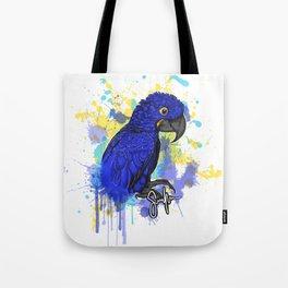 Hyacinth macaw Hymie Tote Bag