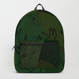 Buck Collage Backpack