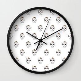 Jason Voorhees Pattern Wall Clock