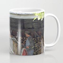 Stacking for Winter Coffee Mug