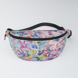Abstract floral painting 2 Fanny Pack