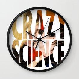 Crazy Science Wall Clock