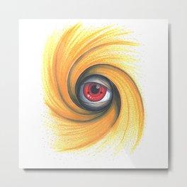 Obito Eye Metal Print