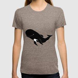 Short-finned pilot whale T-shirt