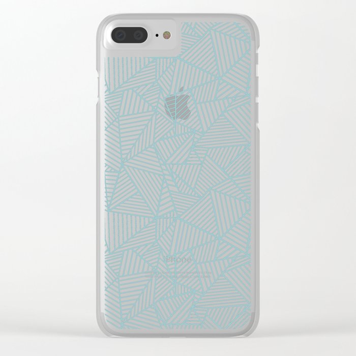 Ab Lines Salt Water Clear iPhone Case
