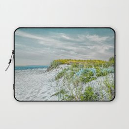 Chatham Lighthouse Beach in Teal Laptop Sleeve