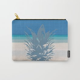 Pineapple Tropical Beach Design Carry-All Pouch