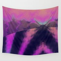 taurus Wall Tapestries featuring taurus by donphil