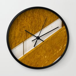 Lines Wood Wall Clock