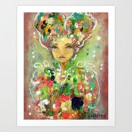 Sacred Alone Art Print