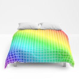 Rainbow Dots Comforters