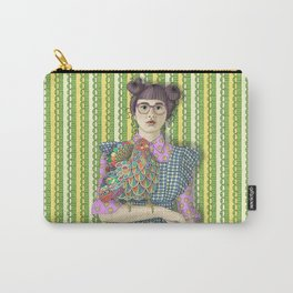 Girl with Dream Chicken Carry-All Pouch