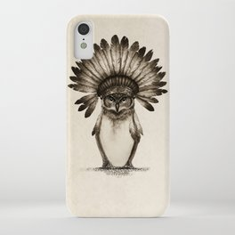 Owl Cheif iPhone Case