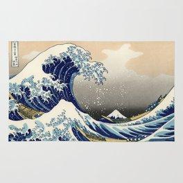 Katsushika Hokusai, The Great Wave off Kanagawa, 1831 Rug