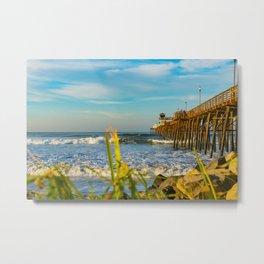 Southside Oceanside Pier  Metal Print