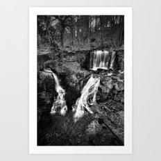 Ingersley Falls Art Print