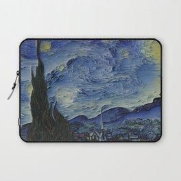 Starry Night Glitch Laptop Sleeve