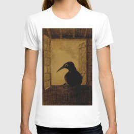 "Odilon Redon ""Le Corbeau (The Crow)"" T-shirt"