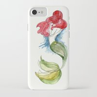the little mermaid iPhone & iPod Cases featuring Little Mermaid by Ines92