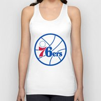 nba Tank Tops featuring NBA - 76ers by Katieb1013