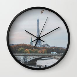 Paris, France II Wall Clock
