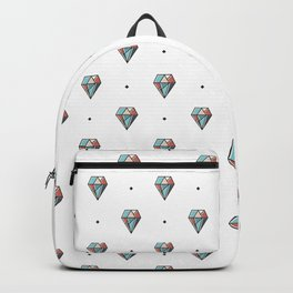 Diamonds are forever Pattern 1 Backpack
