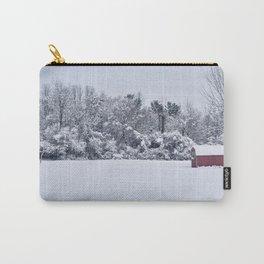 Snowy Day, Bennington VT Carry-All Pouch