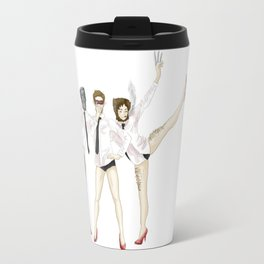 The Xmen hate their boss, hate their coworkers, hate their jobs. Travel Mug