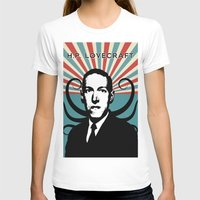lovecraft T-shirts featuring H.P. Lovecraft Retro by Volkan Kutlubay
