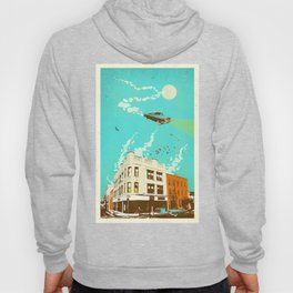 VINTAGE FLYING CAR Hoody