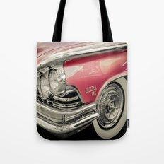Pink Buick Electra 225 Car Tote Bag